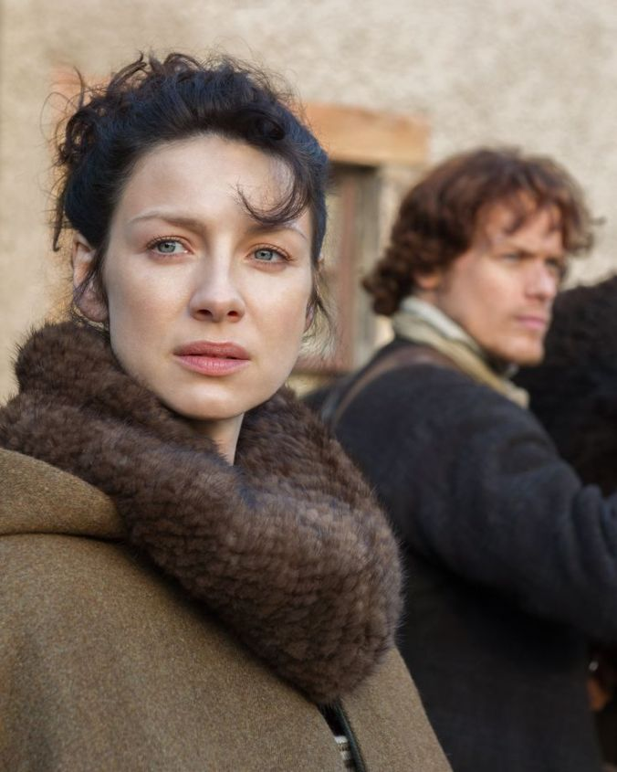 Caitriona Balfe as Claire in Outlander (2014)