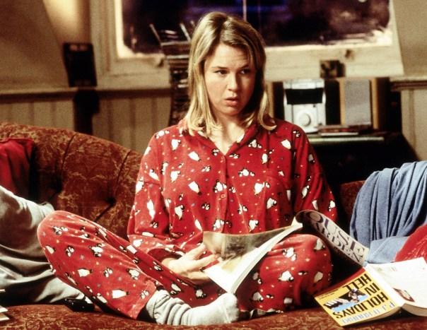 Renee Zellweger in Bridget Jones's Diary (2001), looking like me on Friday nights